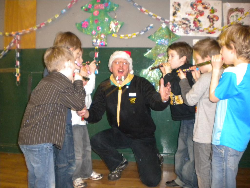 2009 Beavers Christmas Party
