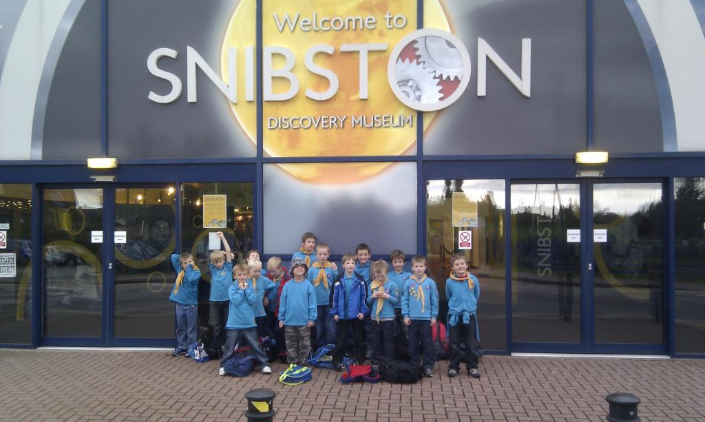 2010 Beavers go to Snibston